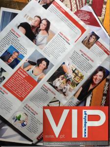 Revista VIP Edição nº920 de 03 a 09/03/2015 na coluna da Sara Esteves Cardoso
