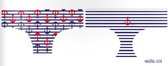 REF nautilus azul